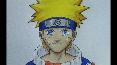 como dibujar  naruto tutorial principiantes paso  paso dibujando anime youtube