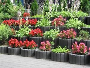 Hochbeet Blumen Bepflanzen : pflanzsteine setzen und bepflanzen gartengestaltung ideen tipps ~ Whattoseeinmadrid.com Haus und Dekorationen