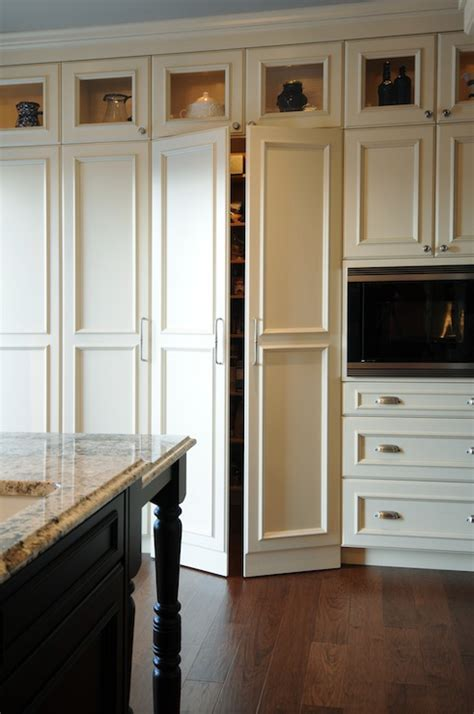 hidden pantry traditional kitchen corea sotropa