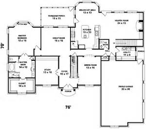 Photos And Inspiration One Story Home Plans With Walkout Basement by Southern Colonial Style House Plans 4500 Square Foot