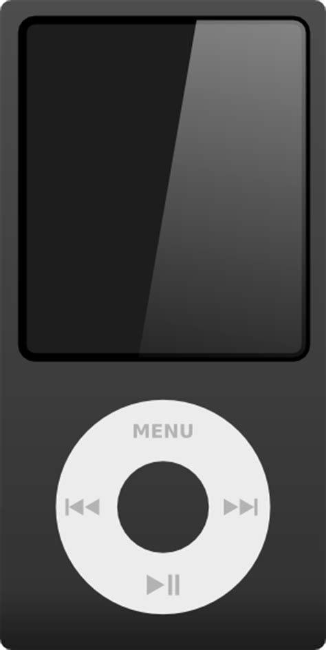 Ipod clipart - Clipground