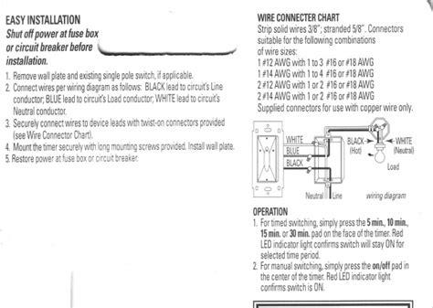 Wiring Bathroom Fan Timer Connections Electrical Diy
