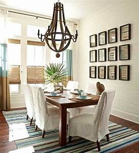 casual dining rooms decorating ideas for a soothing interior With how to decorate a dining room wall
