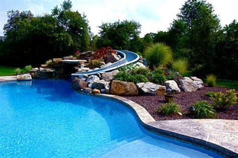 Schoene Gartenidee Mit Aussenwand Wasserfall by 101 Pictures Of Pool In The Garden Interior Design Ideas