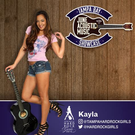 Rock Out For #TBJAMS With The Seminole Hard Rock Girls ...