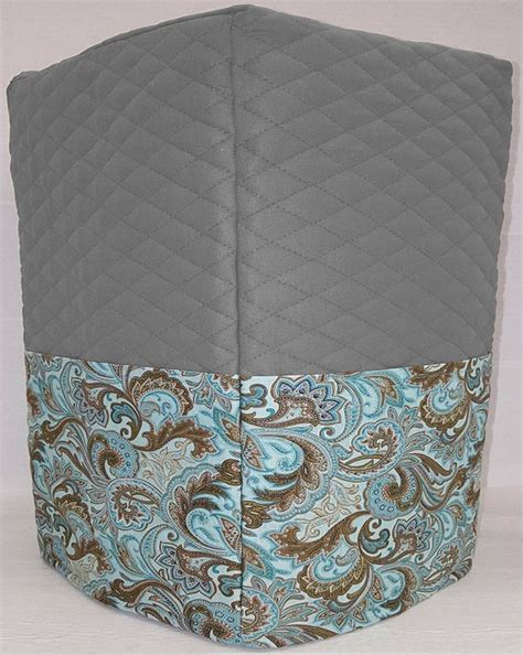 Shop for coffee & espresso makers in kitchen appliances. Quilted Brown & Teal Paisley Coffee Maker Cover by Penny's Needful Things (Gray) - Walmart.com ...