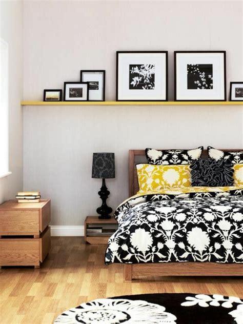 schlafzimmer ideen schwarz gelb bunte dekoideen f 252 rs schlafzimmer dekoartikel und
