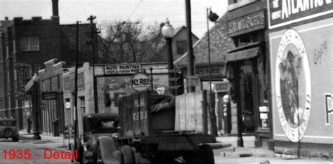 lighting stores indianapolis indianapolis then and now 200 block of e 16th