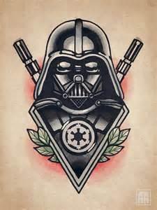 Star Wars Darth Vader Tattoo Flash