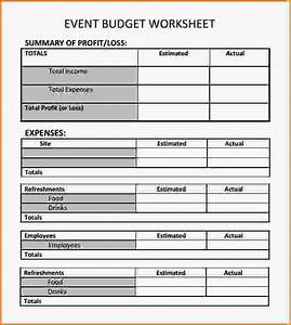 10 event planning worksheet loan application form With template for planning an event