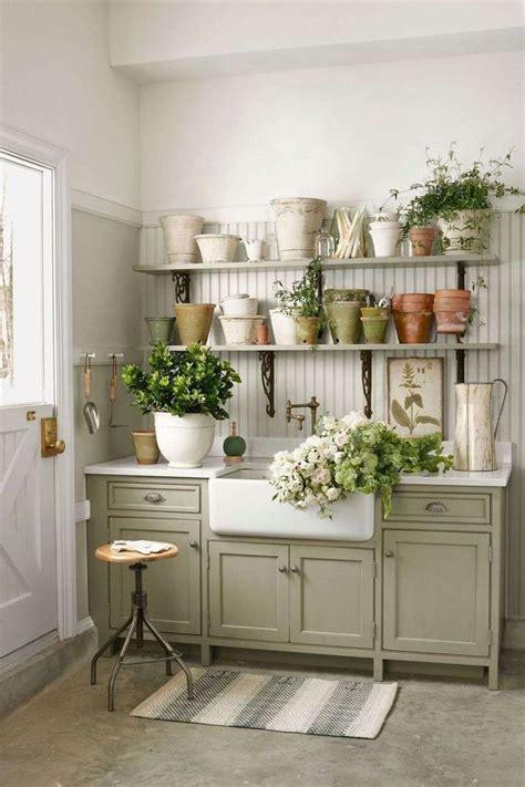 country living kitchen abri jardin quelques id 233 es pratiques pour le rangement 2942