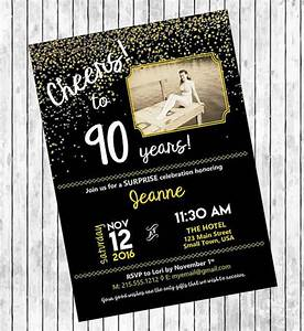 11 90th birthday invitations designs templates psd With 90th birthday invites templates