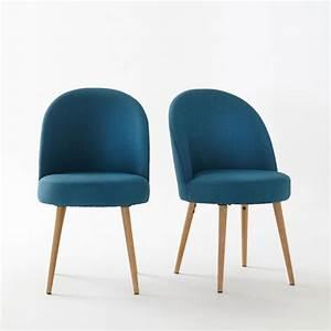 fauteuil de table lot de 2 quilda la redoute interieurs With fauteuil de table a manger