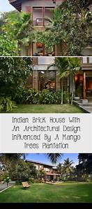 Residential Architecture Indian Brick House With An Architectural Design Influenced By A Mang