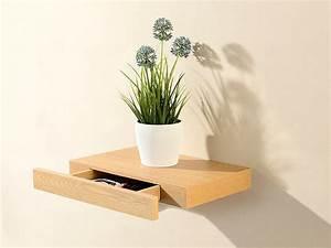 Wandboard Mit Schublade : carlo milano wandboard wandregal mit versteckter schublade 40 x 5 x 25 cm nussbaum optik ~ Orissabook.com Haus und Dekorationen