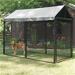 large heavy duty welded mesh dog run 10x10x 6ft animal With costco dog kennel for sale