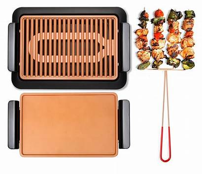 Gotham Smokeless Steel Grill Tv Seen Griddle