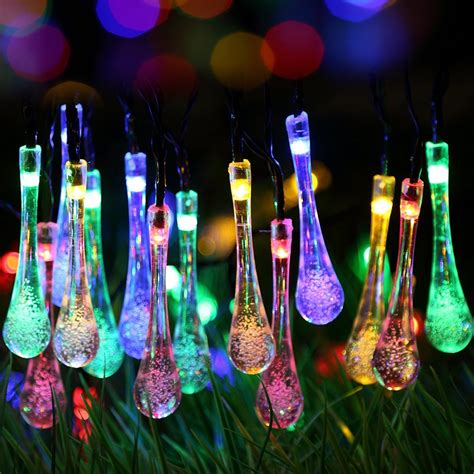 solar bulb string lights outdoor solar string lights adorable home