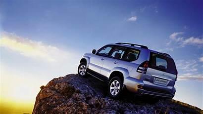 Cruiser Land Prado Jeep Toyota Mountain Wallpapers