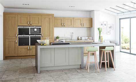 Clonmel Modern Light Oak & Stone  Kitchen Stori