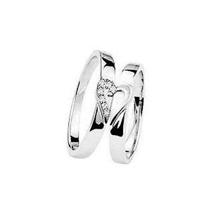 new his and hers matching wedding ring 9ct white gold band ebay