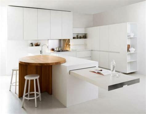 decorer cuisine toute blanche cuisines modernes de style minimaliste en 24 id 233 es