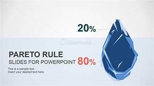 Pareto Principle Iceberg Metaphor Design For Powerpoint