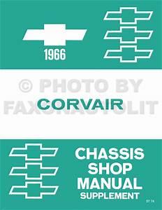 1966 Chevrolet Corvair Wiring Diagram Manual Reprint