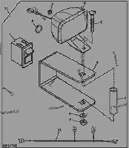 Work Light Kit - Progator John Deere 2030 - Progator