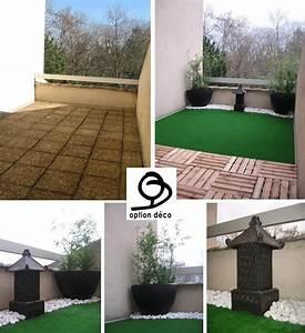 deco exterieur une terrasse esprit zen option deco With superb decoration jardin zen exterieur 9 decoration appartement zen