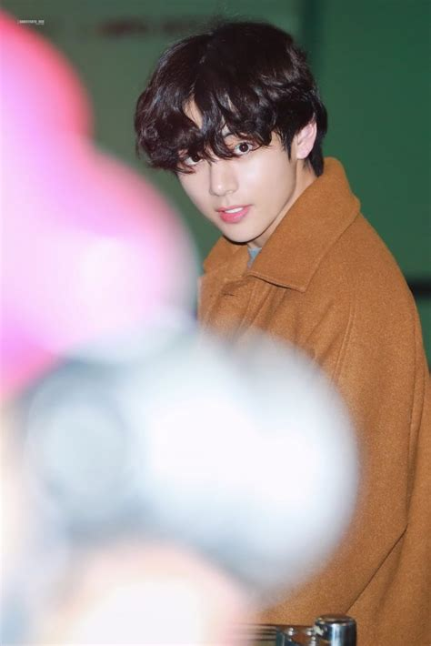 bts taehyung breaks fans hearts   curly hair