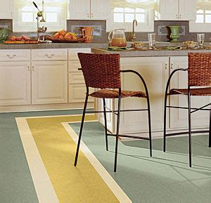 linoleum cuisine top because the color goes through to the backing