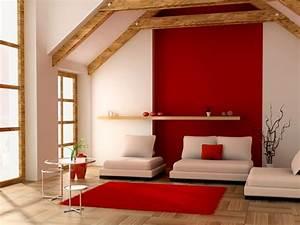 Raumakzente mit Rot rote Wände als Eyecatcher in der Wandgestaltung Wandgestaltung