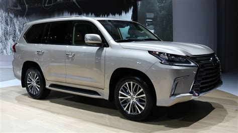 Tworow Lexus Lx 570 Carries Fewer Passengers To Fit More