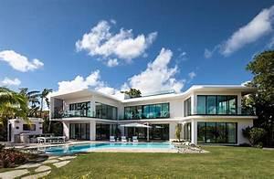 Elegant, And, Modern, Design, Villa, In, Miami, Beach