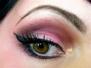 Maquillage Yeux Tuto : tutoriel maquillage yeux verts youtube ~ Nature-et-papiers.com Idées de Décoration