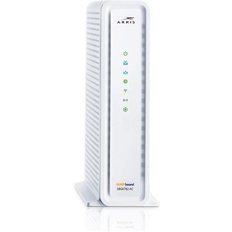 arris surfboard modem lights arris sbg6782 surfboard cable modem wi fi router sbg6782