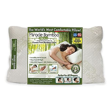 miracle pillow reviews miracle deluxe pillow bed bath beyond