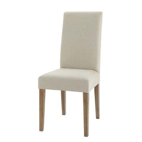 maison du monde housse de chaise chaise en et chêne léonie maisons du monde