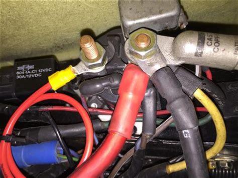 mustang starter motor relaysolenoid   swc