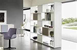 Libreria soggiorno bifacciale Marea Arredo Design Online