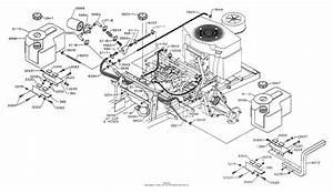 Dixon Ztr 542  1993  Parts Diagram For Fuel  U0026 Hydraulics