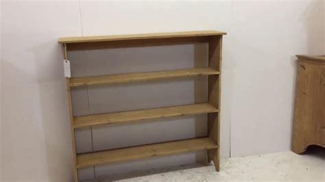 Open Back Handmade Pine Bookshelves For Sale-pinefinders