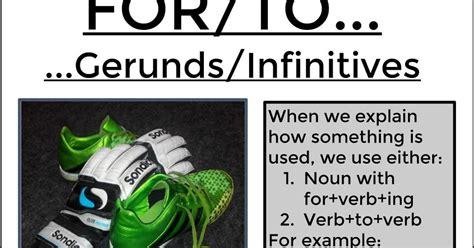 forto gerundsinfinitives learn english words english