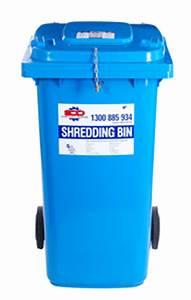 secure document destruction With document destruction bins