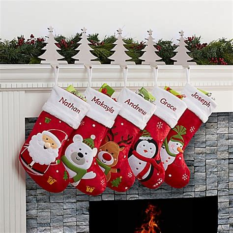 santa claus lane christmas stocking collection bed bath
