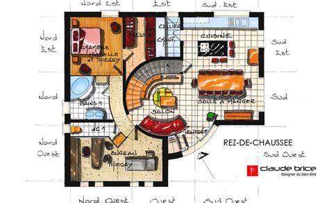 plan chambre feng shui maison feng shui ideale feng shui maisons de golf feng