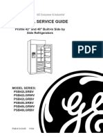 subzero service manual refrigerator mechanical fan