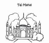 Taj Mahal Phantom Opera Coloring Pages India Ancient Drawing Getcolorings Colouring Printable Getdrawings sketch template