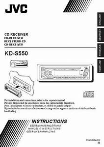 Jvc Kds550 Car Radio Download Manual For Free Now